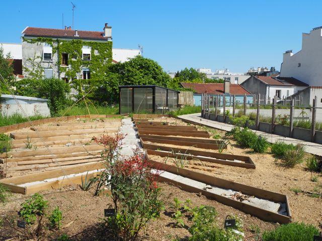 Un jardin de bien tre sur le toit les pipelettes de - Les jardins du bien etre saint etienne ...