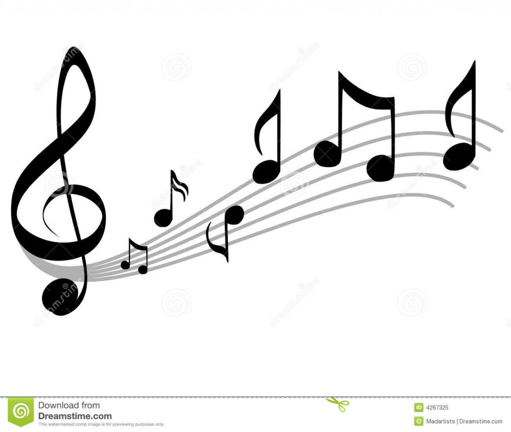 http://www.dreamstime.com/royalty-free-stock-photo-music-notes-scale-treble-clef-image4267325